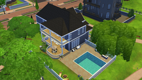 My Current Sims House || Interior Design – CharlieStarBlogs